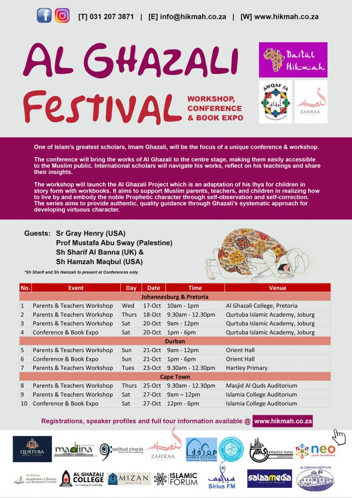 Al Ghazali Festival with Zahraa Institute