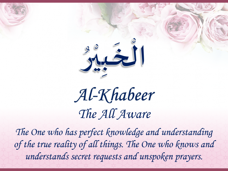 Unveiling Conference 2019 - Avenues to the Almighty-Al-Khabeer