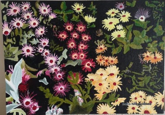 From Darkness to Life | 2014 | Oil panel canvas painting | (9/13Inch) | 230×330mm | R600